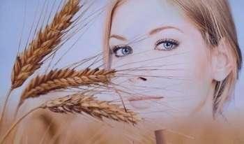 خواص جوانه گندم برای مو ,خواص جوانه گندم برای ریزش مو , جوانه گندم برای ریزش مو