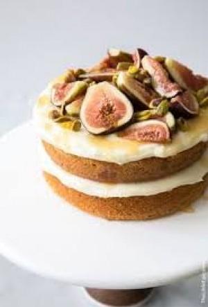 طرز تهیه کیک انجیر و ماست , کیک انجیر و ماست , روش پخت کیک انجیر و ماست