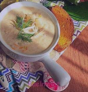 سوپ ازوگلین , طرز تهیه سوپ ازوگلین , روش پخت سوپ ازوگلین