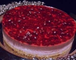 طرز تهیه چیز کیک انار , چیز کیک انار , دستور تهیه چیز کیک انار