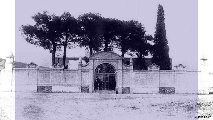 سعدیه، آرامگاه سعدی,عکس آرامگاه سعدی در شیراز