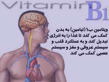 بیماری بری بری, سیستم اعصاب بدن