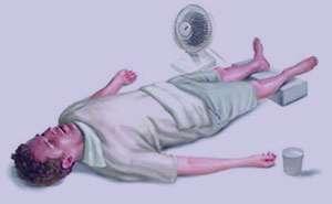 درمان گرمازدگی, گرمای تابستان