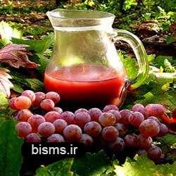 تپش قلب را با آب انگور درمان کنيد