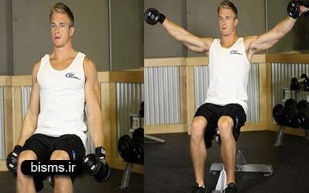 تقویت عضلات شانه, تقویت عضلات کتف,تمرینات بدنسازی
