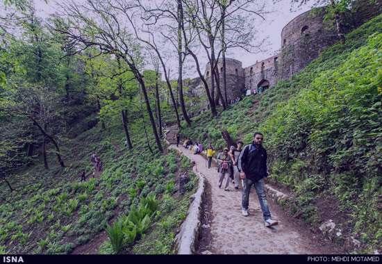 قلعه رودخان فومن,قلعه رودخان+عکس و تعداد پله