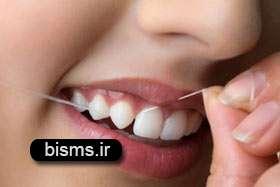 اهمیت استفاده از نخ دندان