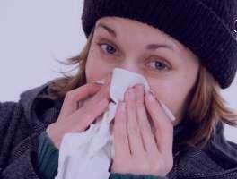 سرماخوردگی,فصل سرما, آنفلوآنزا