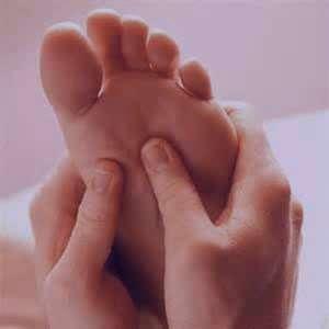 درمان بیماری, کف پا