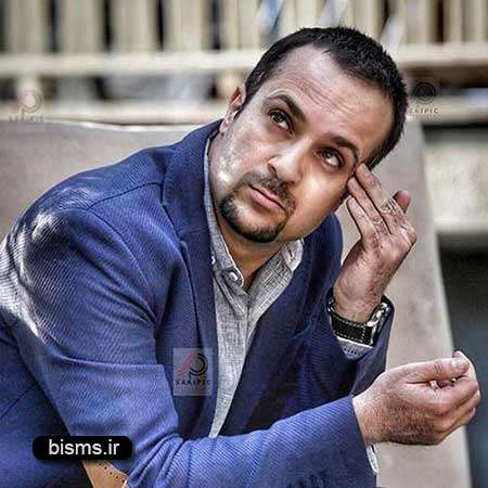 عکس جالب احمد مهران فر در پشت صحنه فیلم زاپاس