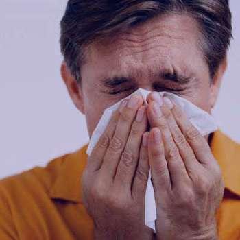 آلودگی هوا, بیماریهای فصل سرد, گلودرد