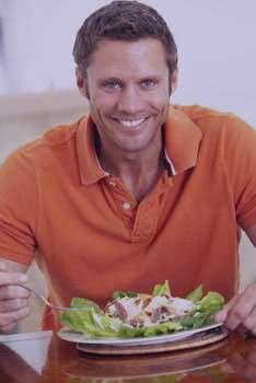 سلامت مردان, غذاهای سالم