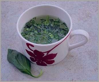 خواص چای ریحان