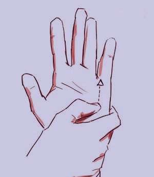 حساسیتهای فصلی, فشار تک انگشتی