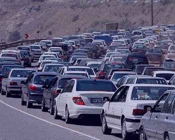 ترافیک,شلوغ بودن جاده