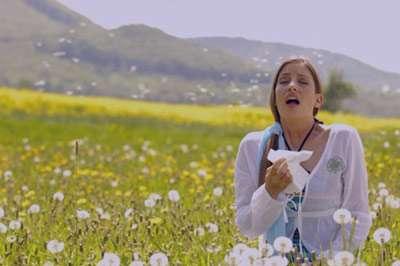 آلرژي , آلرژیدر فصل بهار, آب ریزش بینی