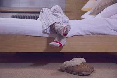 سندرم پای بیقرار, اختلالات گردش خونش