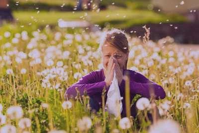درمان آلرژی,انواع آلرژی,آلرژی فصلی