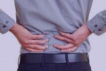 درد کمر, کلیه و مجاری ادراری, عفونت کلیه
