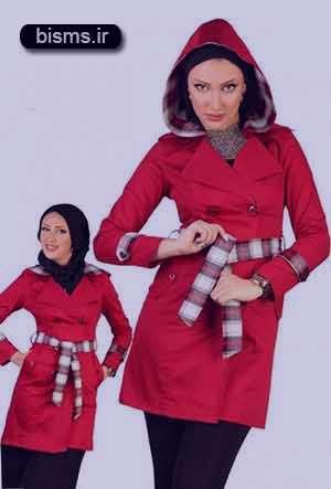 مدل مانتو دانشجویی , مدل مانتو دانشجویی 2016 , مدل مانتو دانشجویی 95 , مدل مانتو دانشجویی قرمز