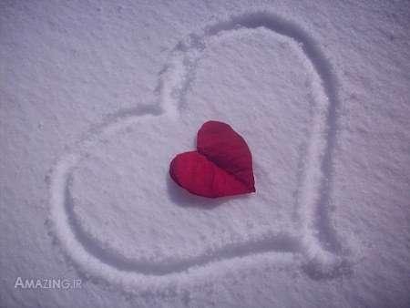 عکس های عاشقانه زمستانی
