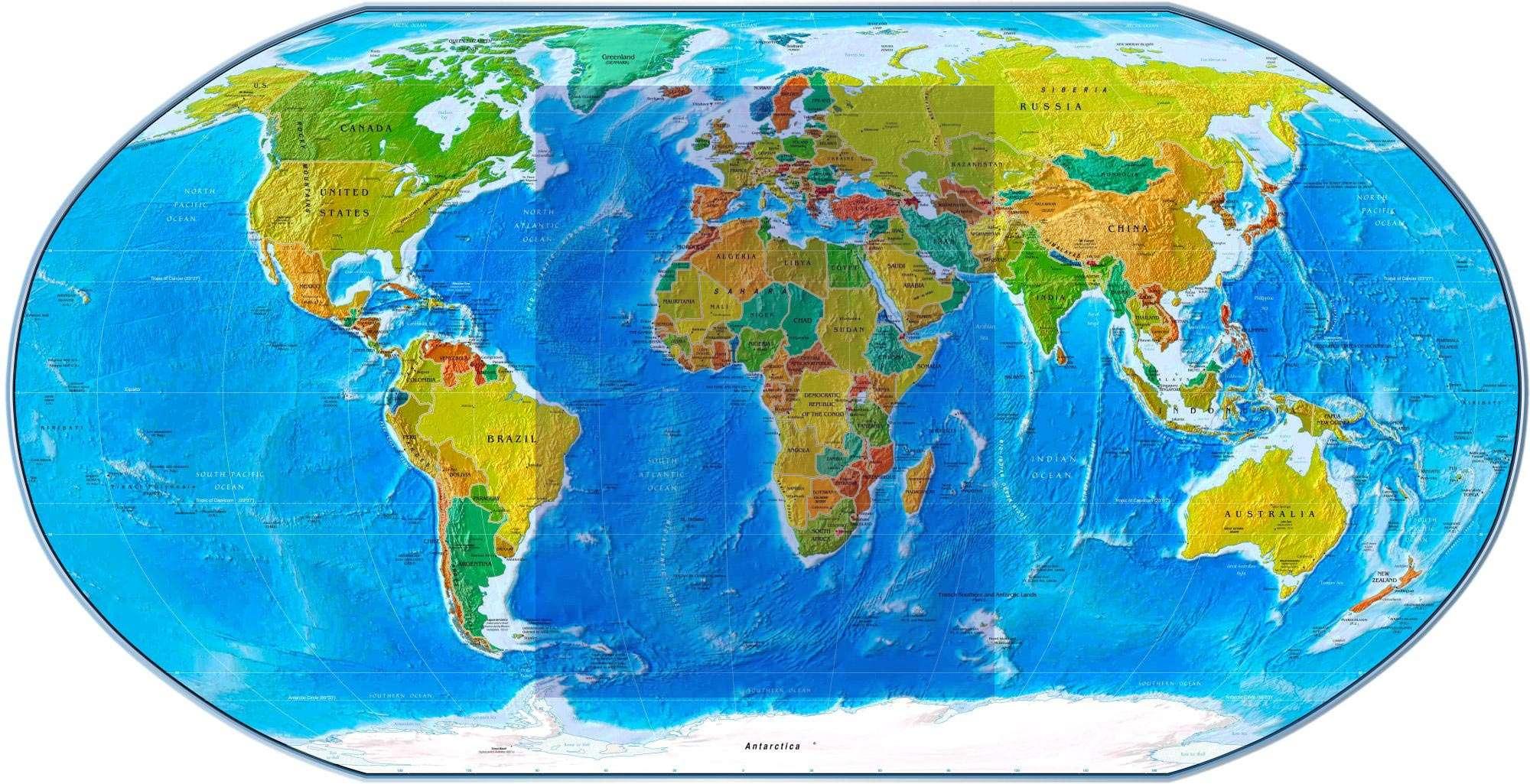 نقشه جهان , نقشه جهان فارسی با کیفیت , نقشه جهان به فارسی , دانلود نقشه جهان , دانلود نقشه جهان برای اندروید و کامپیوتر