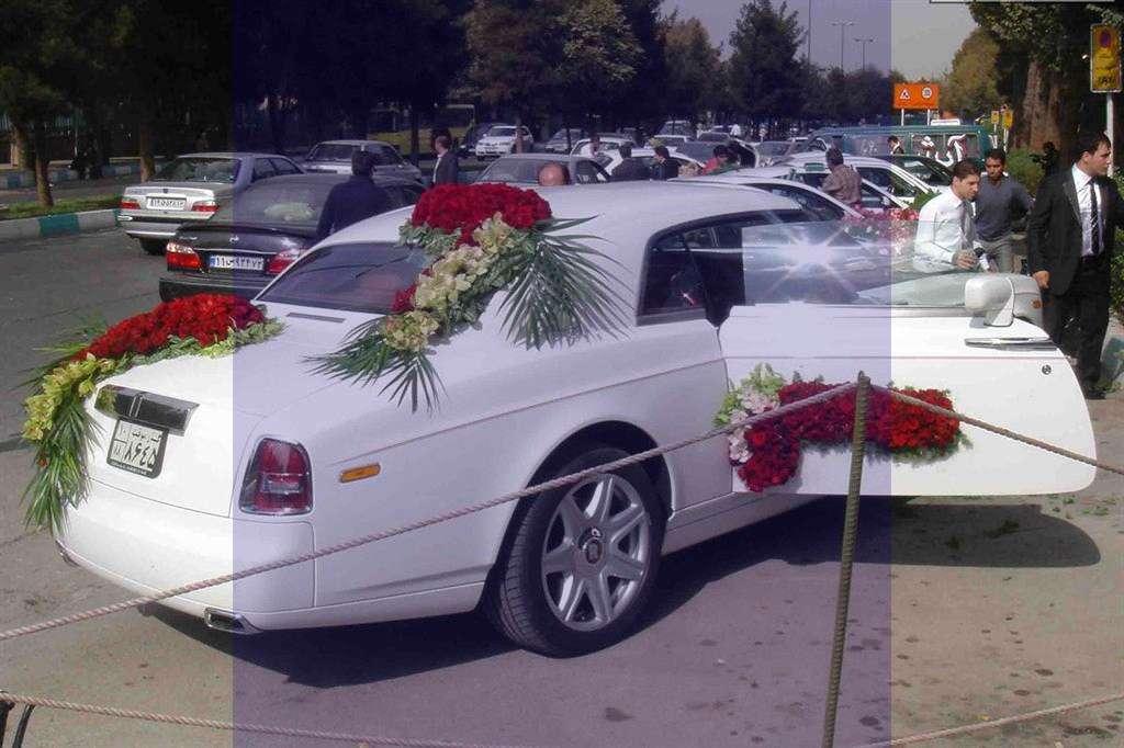 عکس و مدل تزیین ماشین عروس 206 در سال 2016-95