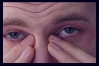 چشم درد , چشم درد و سردرد , چشم درد صبحگاهی , درمان چشم درد , علت چشم درد