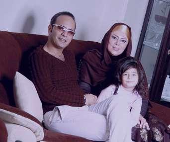شهرام شکوهی و همسرش