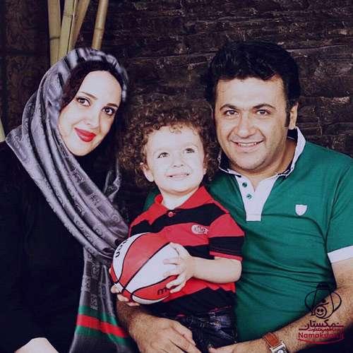 شهرام عبدلی و همسرش,عکس زن شهرام عبدلی,شهرام عبدلی و پسرش,شهرام عبدلی و همسرش