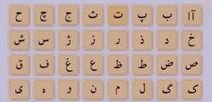 حروف الفبا , حروف الفبا فارسی , حروف الفبای فارسی , حروف الفبای فارسی به ترنیب