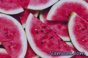 هندوانه , خواص هندوانه , مضرات هندوانه , تزیین هندوانه