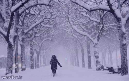 تعبیر خواب برف نشسته روی زمین , تعبیر خواب برف , تعبیر خواب برف باریدن , برف در خواب دیدن