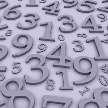 تعبیر خواب اعداد , تعبیر خواب خواندن اعداد , تعبیر خواب نوشتن اعداد