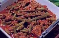 خورش لوبیا سبز , طرز تهیه خورش لوبیا سبز , آموزش خورش لوبیا سبز