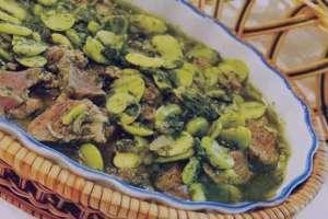 خورش باقلا , طرز تهیه خورش باقلا , دستور پخت خورش باقلا
