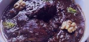 طرز تهیه خورش فسنجان با قارچ , خورش فسنجان با قارچ , فسنجان با قارچ