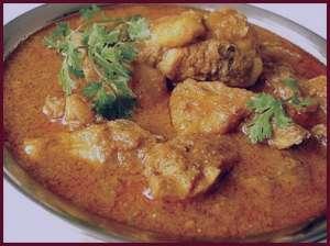 طرز تهیه خورش کاری مرغ به سبک هندی , طرز تهیه خورش کاری مرغ , خورش کاری مرغ