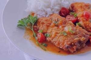 خورش ماهی , طرز تهیه خورش ماهی , دستور پخت خورش ماهی
