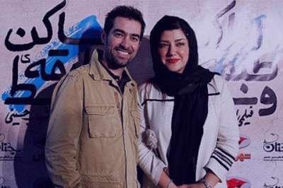 همسر شهاب حسینی در هفت , همسر شهاب حسینی اپارات , همسر شهاب حسینی و فرزندش