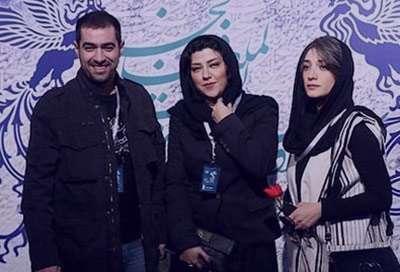 همسر شهاب حسینی در مراسم ختم پدر شوهرش , عکس همسر شهاب حسینی , بیوگرافی همسر شهاب حسینی