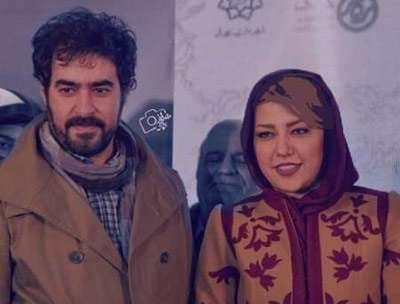 همسر شهاب حسینی و فرزندش , همسر شهاب حسینی در مراسم ختم پدر شوهرش , عکس همسر شهاب حسینی