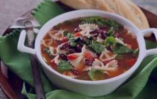 سوپ سبزیجات با پاستا , طرز تهیه سوپ سبزیجات با پاستا , آموزش سوپ سبزیجات با پاستا