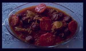 خورش آلو مسما , طرز تهیه خورش آلو مسما , خورش آلو مسما با مرغ , خورش آلو مسما با گوشت