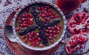 طرز تهیه آش انار , آش انار , آش انار آذری