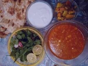 طرز تهیه آبگوشت لپه , آبگوشت لپه , آبگوشت لپه و لیمو عمانی