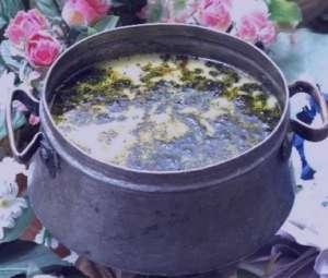 طرز تهیه آبگوشت کشک بادمجان , آبگوشت کشک بادمجان , آبگوشت لری