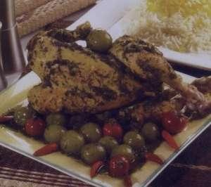 طرز تهیه خورش گوجه سبز و مرغ , خورش گوجه سبز و مرغ , خورش گوجه سبز