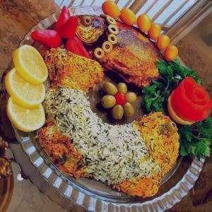 پلو ماهی قالبی , طرز تهیه پلو ماهی قالبی , پلو ماهی