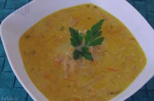 سوپ کرفس و هویج , طرز تهیه سوپ کرفس و هویج , روش پخت سوپ کرفس و هویج